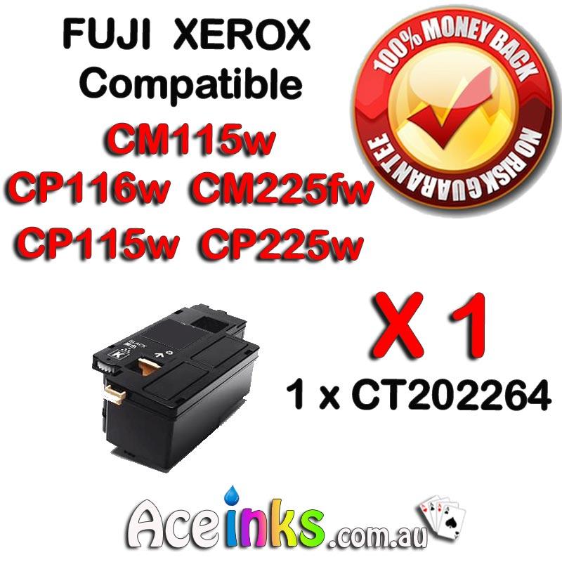 Compatible FUJI XEROX CT202264 CM115w [FUJI XEROX CT202264 Black